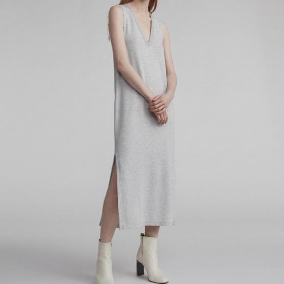 rag & bone Dresses & Skirts - RAG & BONE | Heather Grey Phoenix Vee Dress